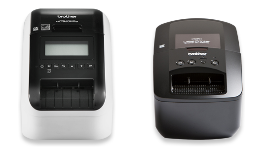 Brother wireless label printer lineup